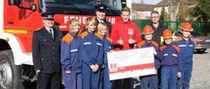 Jugendfeuerwehr zu Gast bei der Feuerwehr Großräschen