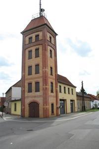 Altes Gerätehaus der Freiwilligen Feuerwehr Sedlitz