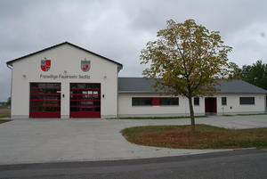 Neues Gerätehaus Freiwillige Feuerwehr Sedlitz