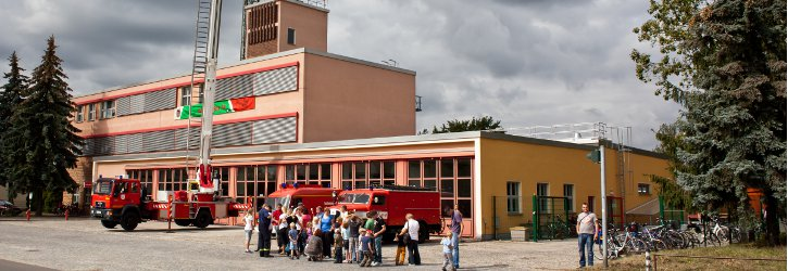 Feuerwache Senftenberg  Foto D. Winkler